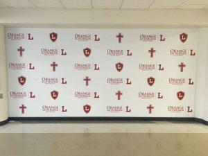 Pennsylvania Church Signs custom wall vinyl step repeat mural 300x225