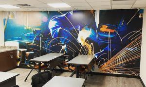 vinyl wall mural graphics